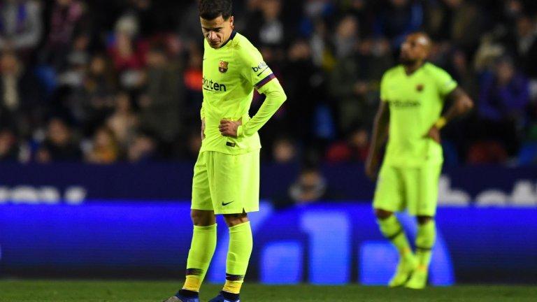 В Барселона Коутиньо беше попаднал в дълбока дупка и Байерн беше шансът му да си възвърне самочувствието