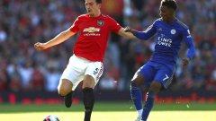 Магуайър надмогна обидите от трибуните и поведе Юнайтед