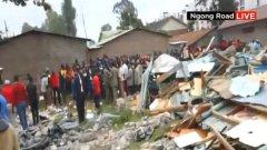 Деца загинаха при срутване на класна стая в Кения