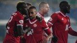 ЦСКА надделя минимално над Левски в напрегнато дерби