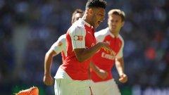 Окслейд-Чембърлейн донесе победата за Арсенал срещу Челси в Къмюнити Шийлд