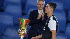 Кристиано Роналдо загуби два поредни финала за първи път в кариерата си