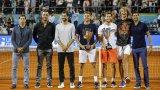 Виктор Троицки (вторият от ляво надясно, точно до Григор Димитров) е последният тенисист, участвал в организирания от Новак Джокович Adria Tour, заразен с COVID-19