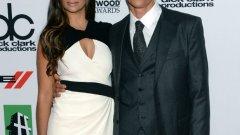 На премиерата на Dallas Buyers Club с жена си Камила Алвес