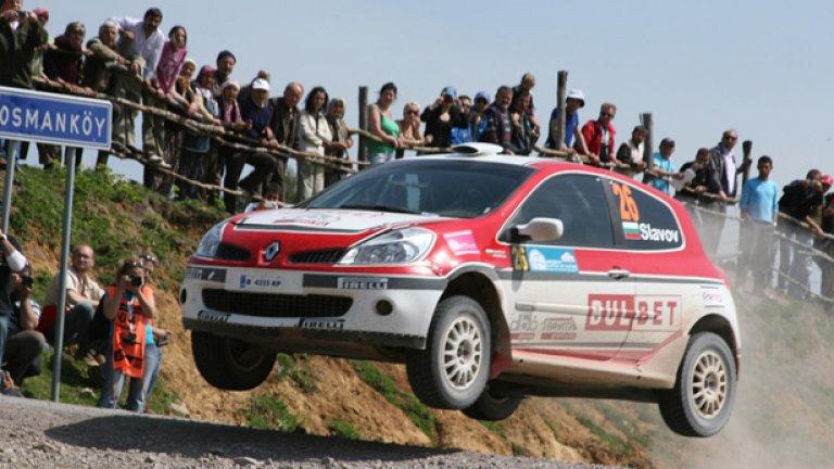 Екипажът на Булбет рали тим Тодор Славов и Добромир Филипов завърши на трето място в крайното класиране на Европейският рали шампионат за автомобили с един двигателен мост (2wd ERC)