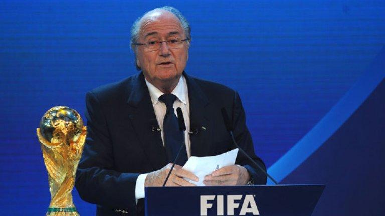 Ръководеният от Сеп Блатер мастодонт ФИФА претърпя тежки удари напоследък