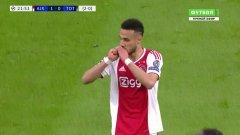В 22-рата минута от втория полуфинал на Шампионската лига срещу Тотнъм, играчите на Аякс Хаким Зийех и Нусиар Мазрауи получиха енергийни пликчета. Футболистите бързо ги изсмукака.