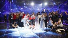 """Кои държави продължават след първия полуфинал на """"Евровизия"""""""