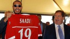 """""""Саади бил слаб футболист... Какво от това? Нали ще помогне за изграждането на отношения между Италия и и Либия."""""""