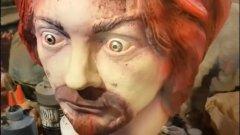 Изкуство или колекционерска мания: Маски на Чарлс Менсън от пепел и човешка кръв