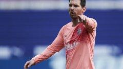 С двата гола срещу Ейбар Меси приключи още един знаменит сезон в Испания