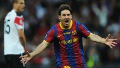 Лионел Меси вече е голмайстор №2 в историята на Барселона