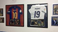 Сетиен е популярен сред звездите заради футбола, който играят отборите му.
