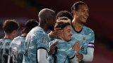 Ливърпул вкара 7 гола и си уреди двубой с Арсенал