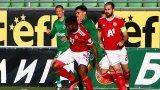"""""""Червена"""" доминация през първото полувреме, червени картони през второто и ЦСКА е на финал"""