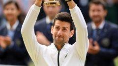 Двамата играха божествен тенис в един от най-великите финали в последните години - но накрая можеше да има само един победител