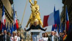 """Френското правосъдие разследва лидерката на националистите Марин льо Пен, която окачестви през 2010 г. като """"окупация"""" улична молитва на мюсюлмани"""