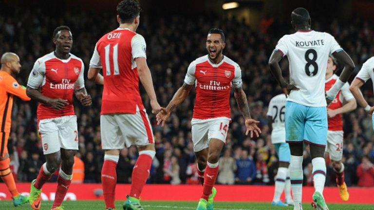 """Кристъл Палас – Арсенал, понеделник 22:00 часа Палас най-накрая загуби след четири поредни победи. """"Орлите"""" обаче все още не могат да са сигурни за мястото си във Висшата лига и през следващия сезон, като са само на три точки над опасната зона. А лондонското дерби с Арсенал идва в доста неподходящ момент. """"Артилеристите"""" се върнаха на петата позиция след класическа победа в друго лондонско дерби – срещу Уест Хем. Тимът на Арсен Венгер изглеждаше като добре смазана машина срещу """"чуковете"""" и ако повтори представянето си, победата му е сигурна. Но ако Палас игра, както срещу Челси, може да вземе още един голям скалп.  Сигурна прогноза: гол/гол – 1,61 Рисков залог: Х на полувремето – 2,37"""