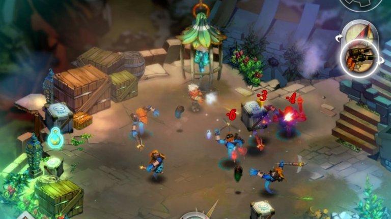 Bastion (iOS)  Когато дебютира през 2011 г. за Xbox 360, Bastion затвърди репутацията на конзолата на Microsoft като място за някои от най-добрите независими игри. Тази екшън ролева игра на фона на разкошно изрисувания свят си остава чудесно занимание без значение къде го играете, но възможността да го имате на вашето iOS устройство наистина дава ново измерение на понятието за мобилни игри.   Ако приказният свят на Bastion ви грабне, задължително потърсете и Transistor - следващата игра на талантливото студио Supergiant Games. Засега нито една от тези игри не е налична за Android, така че предложението е само за собственици на iPhone и iPad.