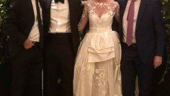На сватбата присъства и бившият №1 в света Даниел Валверду.