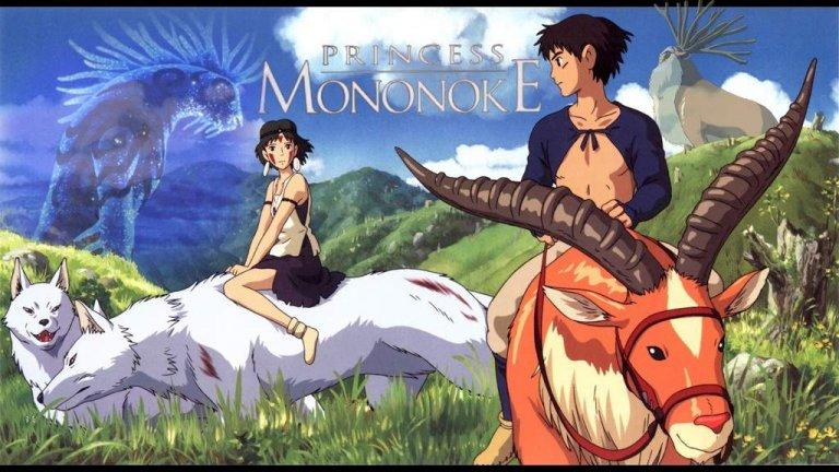 """""""Принцеса Мононоке"""" Когато демонът, дошъл от Запад, напада селото му, принц Ашитака не мисли за своята сигурност. Със смелост и няколко умели изстрела, той успява да предпази близките си от чудовището, но на тежка цена - отровна рана, която ще продължи да го убива малко по малко. Затова и той е принуден да напусне селото си и да тръгне на Запад в търсене на лек и на истината за ужаса, създал демона. Така попада в средата на в центъра на война между горски божества и миньорска колония за съдбата на Гората на боговете. Там той се сблъска и с принцеса Мононоке - човешкото дете на боговете вълци, която води своята борба да спаси гората. Двамата заедно ще се срещнат и с Духа на гората, за чиято глава обаче с тръгнали ловци на императора. Филмът може и да е детски, но в него има сериозна дълбочина, която може да ви спечели на всяка възраст."""