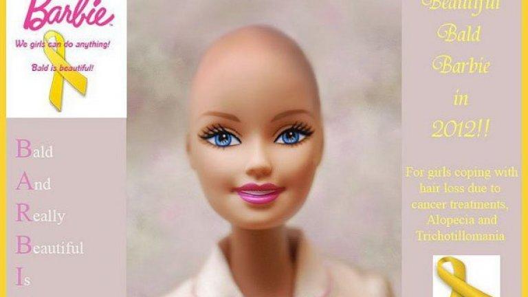 Инициативата е предприета, за да се повиши социалната адаптация на момиченцата, които нямат коса