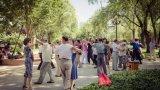 Паркът Чангпу - живият тиндър за старите жители на Пекин