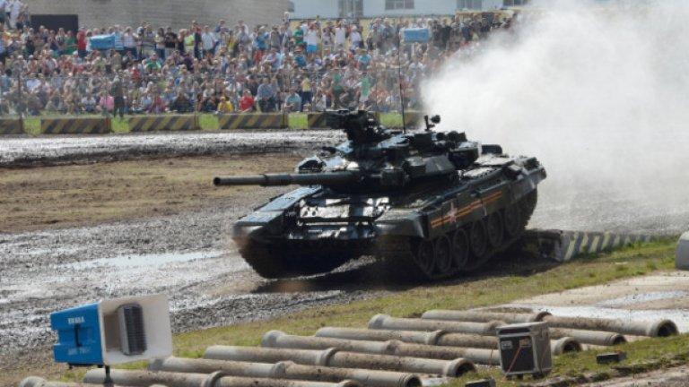 Т-90 се считаше за най-модерния руски танк досега. Новият Т-14 струва три пъти повече от предшественика си.