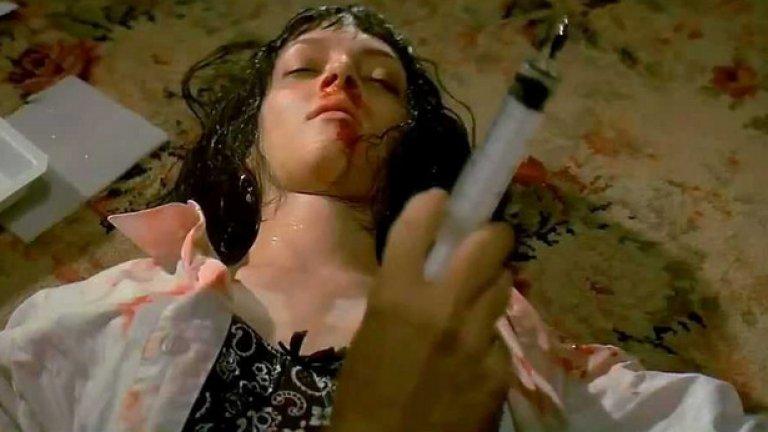 """Тарантино поетизира хероина в поредица от упойващи кадри, преди да покаже ужасната му страна в """"Криминале"""""""