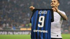 Мауро Икарди отбеляза първия хеттрик в дербито на Милано от Диего Милито през 2012 година. И двата бяха на сметката на Интер.