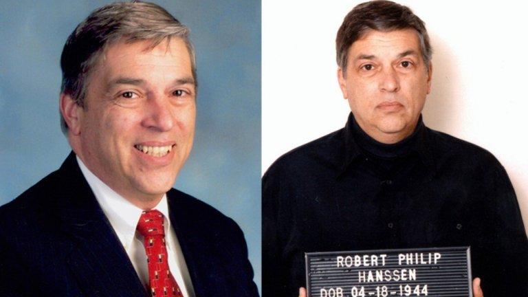 """Робърт Хансен  Единственият, който може да се сравнява с Олдрич Еймс по размер на дейността си е Робърт Хансен, а неговите действия са определени и до днес като """"най-голямата катастрофа за американското разузнаване"""".   В периода между 1979 - 2001 г. той продава хиляди документи с информация, разкриваща подробности за развитието на различни военни технологии, детайли по американските програми за разузнаване и дори план за прокопаване на тунел под съветското посолство във Вашингтон. В крайна сметка е хванат и осъден на 15 доживотни присъди в строг тъмничен затвор."""