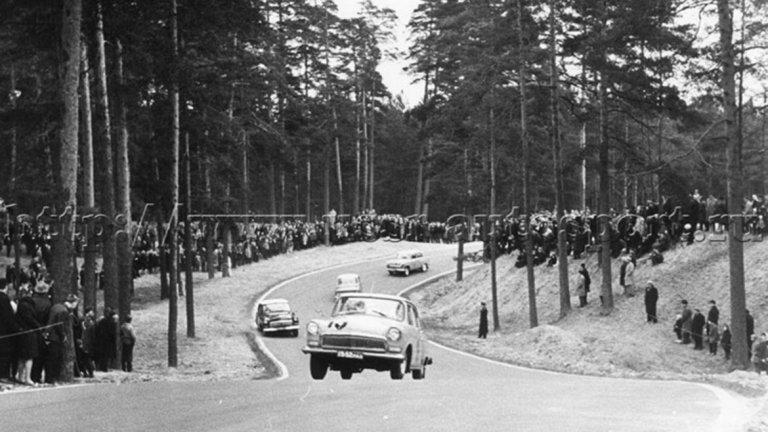Формула 1 остава недокосната мечта, а в СССР се задоволяват с ралита на местно ниво.
