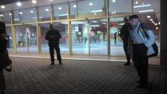Двупосочното движение на метрото през станцията на стадиона  е спряно