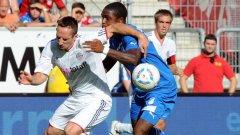 Рибери води тежка битка с футболистите на Хофенхайм