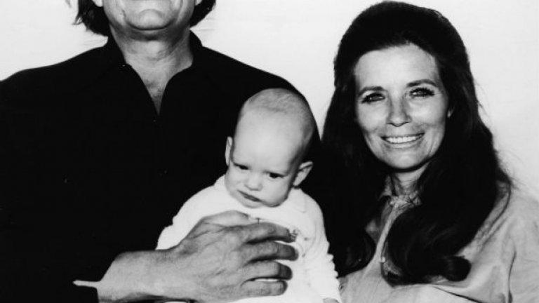 Джони Кеш и Джун Картър с Джони младши