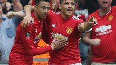 Юнайтед обърна Тотнъм с блясъка на Санчес и е на финал за ФА Къп