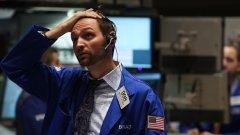 Слабата фондова търговия в САЩ отразява страховете на инвеститорите, които не знаят как ще се развие сагата с европейския дълг...
