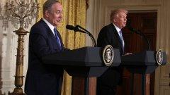 Израел може да накаже Доналд Тръмп