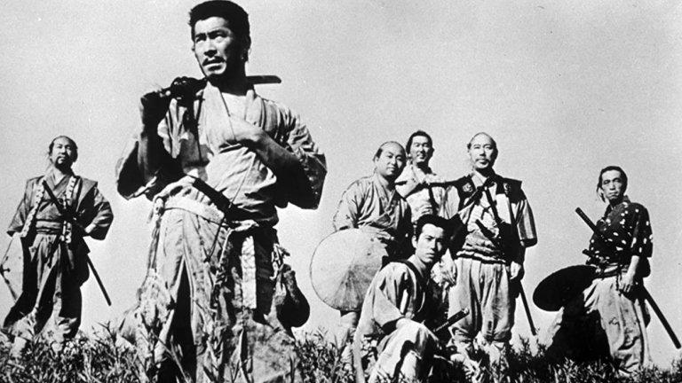 """Seven Samurai / """"Седемте самураи""""  Каквото и да се каже за Седемте самураи, все ще е малко. Получил е толкова награди и признания, има толкова много римейкове, че човек дори да не го е гледал никога (нещо което трябва да бъде подсъдимо), просто знае колко велик е този филм. Абсолютна класика."""