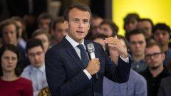 Какъв е призивът на френския президент към Обединена Европа - Силни, обединени, да не се страхуваме и да действаме сега