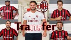 Милан вече взе 10-има нови. Как ще изглежда с тях през новия сезон? Вижте в галерията...