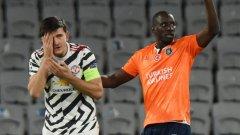 Шок за Юнайтед в Истанбул и първа загуба в групата