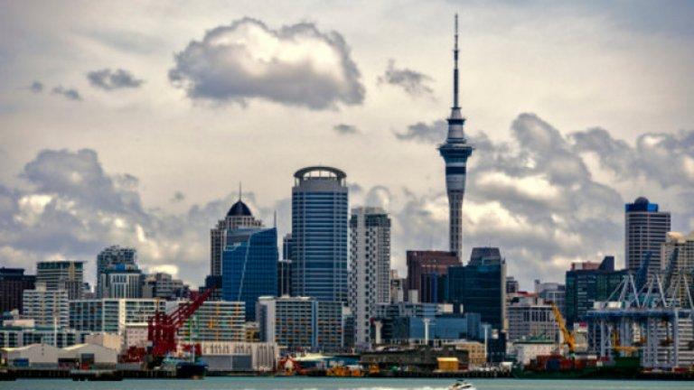 """8. Окланд, Нова Зеландия  Новозеландският град получава общ резултат от 95,7 точки, разпределени съответно на: """"сигурност"""" - 95; """"здравеопазване"""" - 95,8; """"култура и околна среда"""" - 97; """"образование"""" - 100; """"инфраструктура"""" - 92,9."""