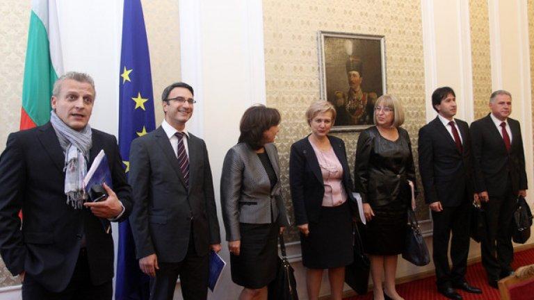Срещата на ГЕРБ и Реформаторския блок