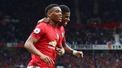 Марсиал и Рашфорд ще носят голямата отговорност в атака за Юнайтед този сезон. В първия мач от сезона те оправдаха напълно доверието
