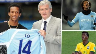 Във Висшата лига Жо ще бъде запомнен като издънка на Манчестър Сити и после на Евертън. Но футболният му път е изпълнен с още редица падения и възходи