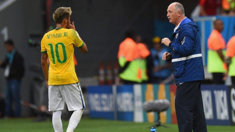 Селекционерът на Бразилия Сколари подаде оставка