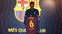 Жан-Клер Тодибо ще се превърне в шестия централен защитник на разположение на Ернесто Валверде в Барселона