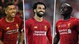 Тримата от Ливърпул едва влизат в десетката на най-резултатните нападения в Европа