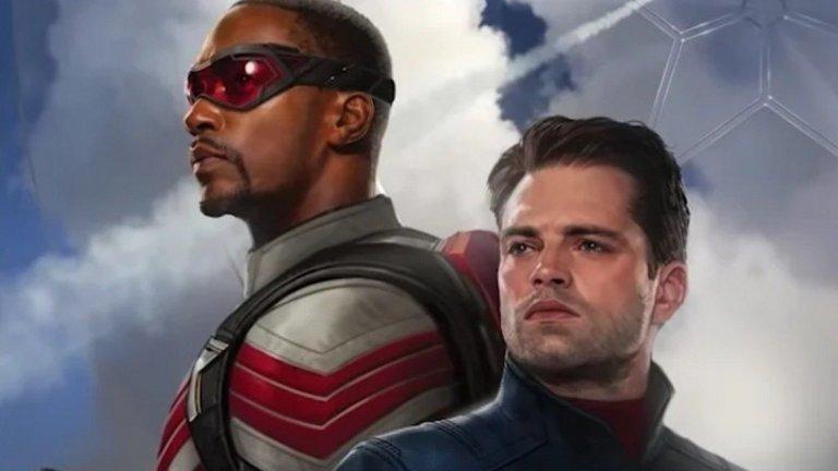 The Falcon and the Winter Soldier Премиера: 19 март (сериал в Disney+, продължава до 23 април) Вселена: Филмова вселена на Marvel  Вторият сериал на Marvel Studios разглежда темата за наследството на оригиналния Капитан Америка - Стив Роджърс (Крис Еванс), а в центъра на историята са приятелите му Бъки Барнс/Зимният войник (Себастиан Стан) и Сам Уилсън/Falcon (Антъни Маки). Първият трейлър ни показа, че ни очаква екшън-трилър с елементи на добрите стари buddy cop комедии, както и нова среща с кроящия злокобни планове барон Земо (Даниел Брюл).